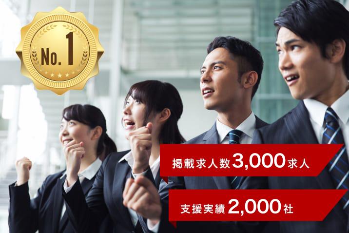 高卒採用サイト 掲載企業社数NO.1!